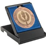 Medal Box MB10B Black 50/60/70mm Recess